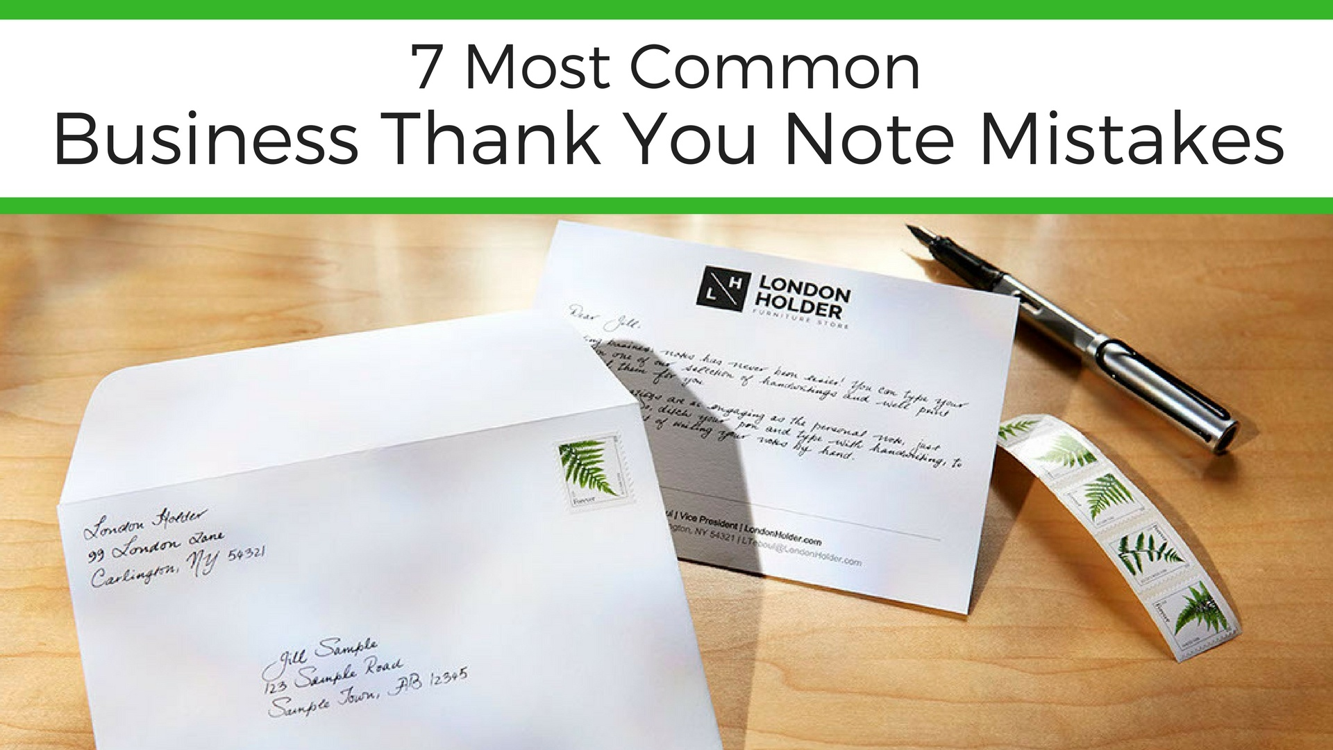 7 Most Common Business Thank You Note Mistakes